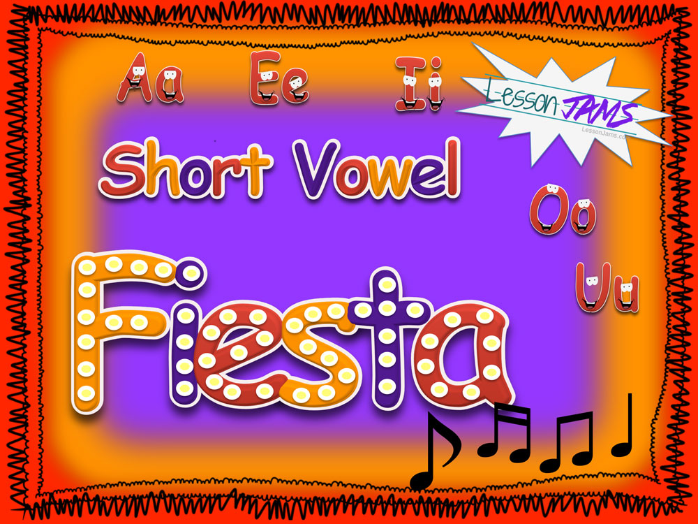 Short Vowel Fiesta Song with Lyrics