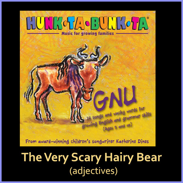 The Very Scary Hairy Bear Song Download with Lyrics