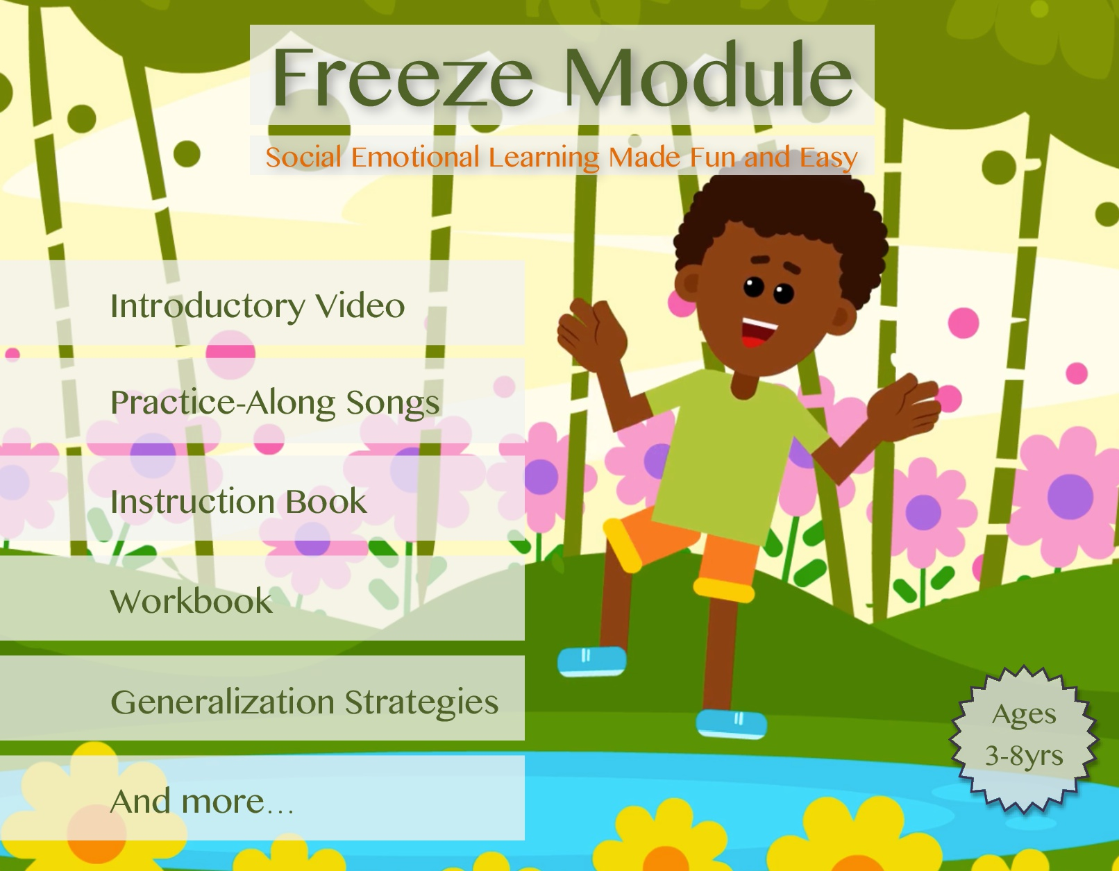 Freeze Song with Lesson Module