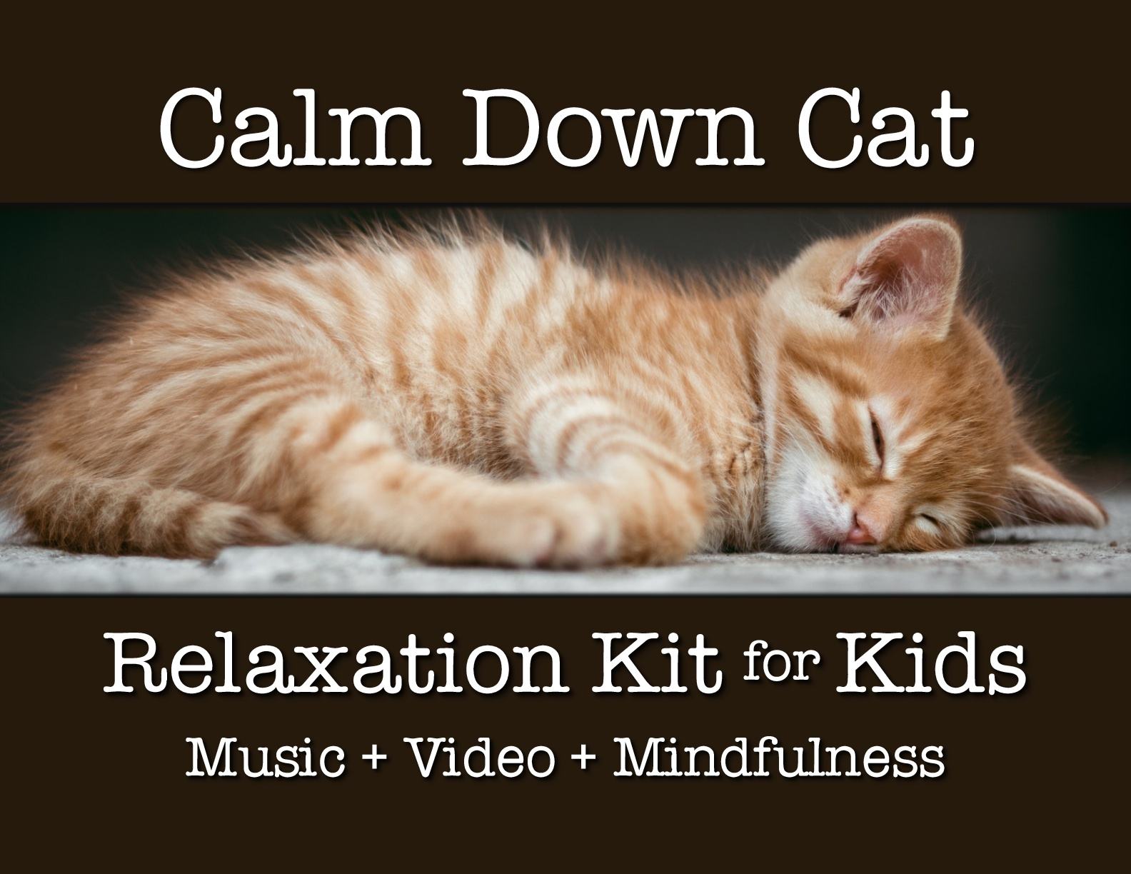 Calm Down Cat Relaxation Kit Download