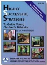 Highly Successful Strategies to Guide Young Children's Behavior Professional Development DVD