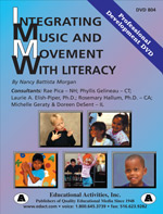 Integrating Music and Movement with Literacy Professional Development DVD