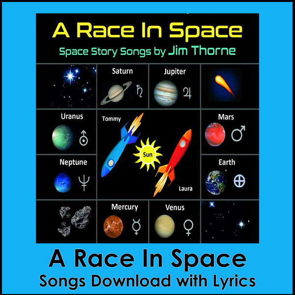 A Race In Space Song Download with Lyrics