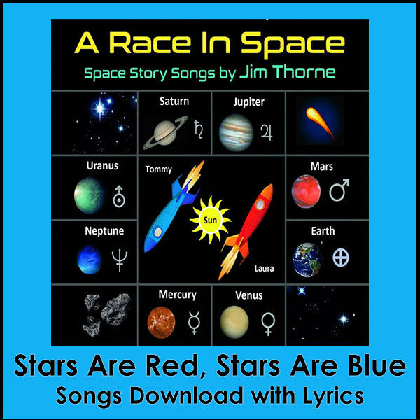 Stars Are Red, Stars Are Blue Song Download with Lyrics