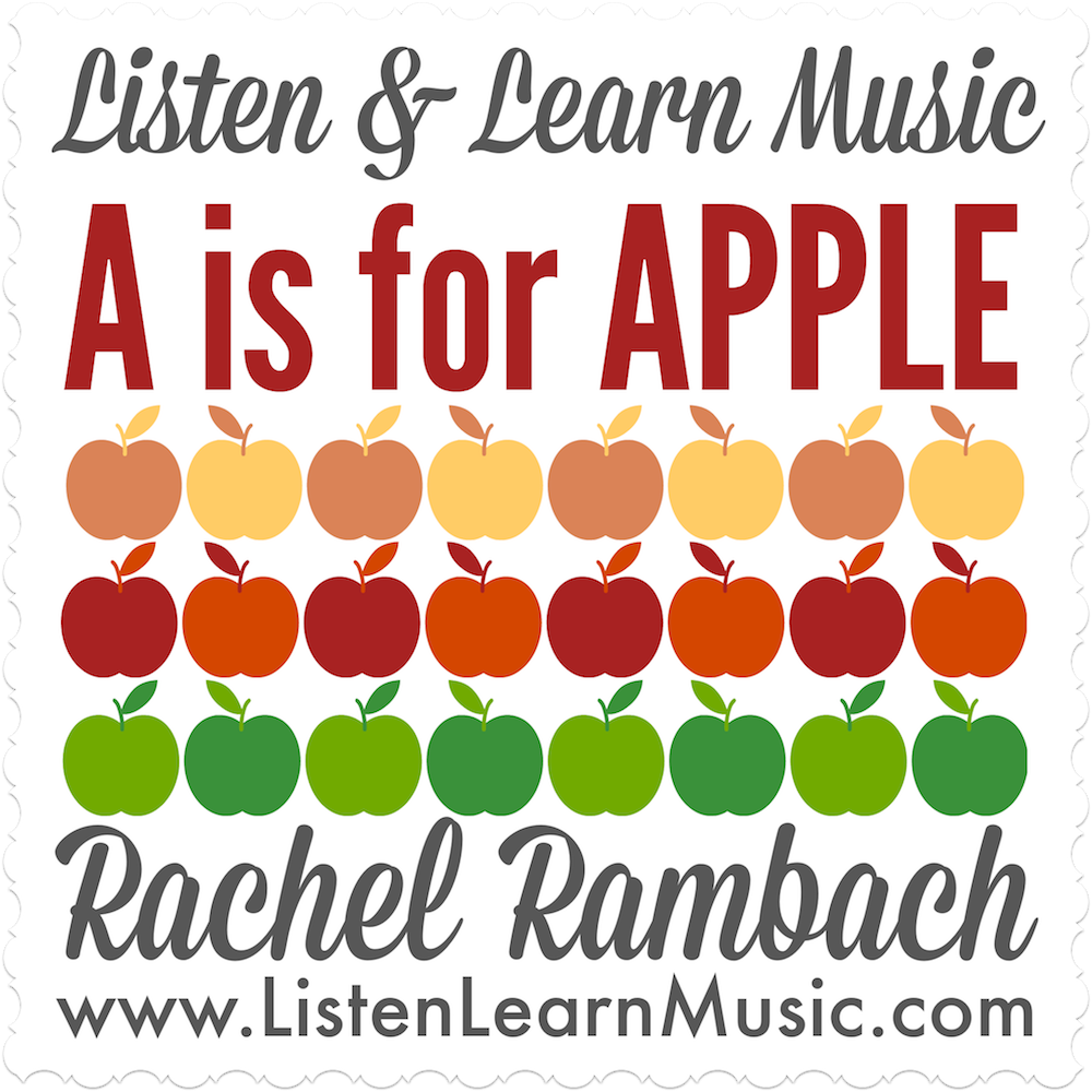 A is for Apple Downloadable Tracks with Lyrics
