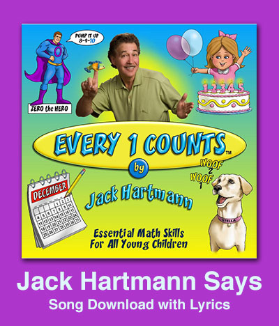 Jack Hartmann Says Song Download with Lyrics