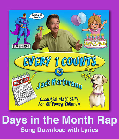 Days in the Month Rap Song Download with Lyrics