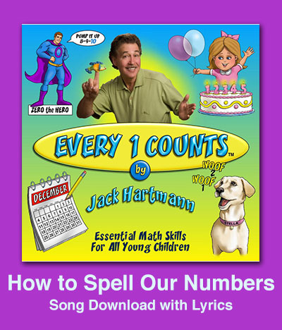 How to Spell Our Numbers Song Download with Lyrics