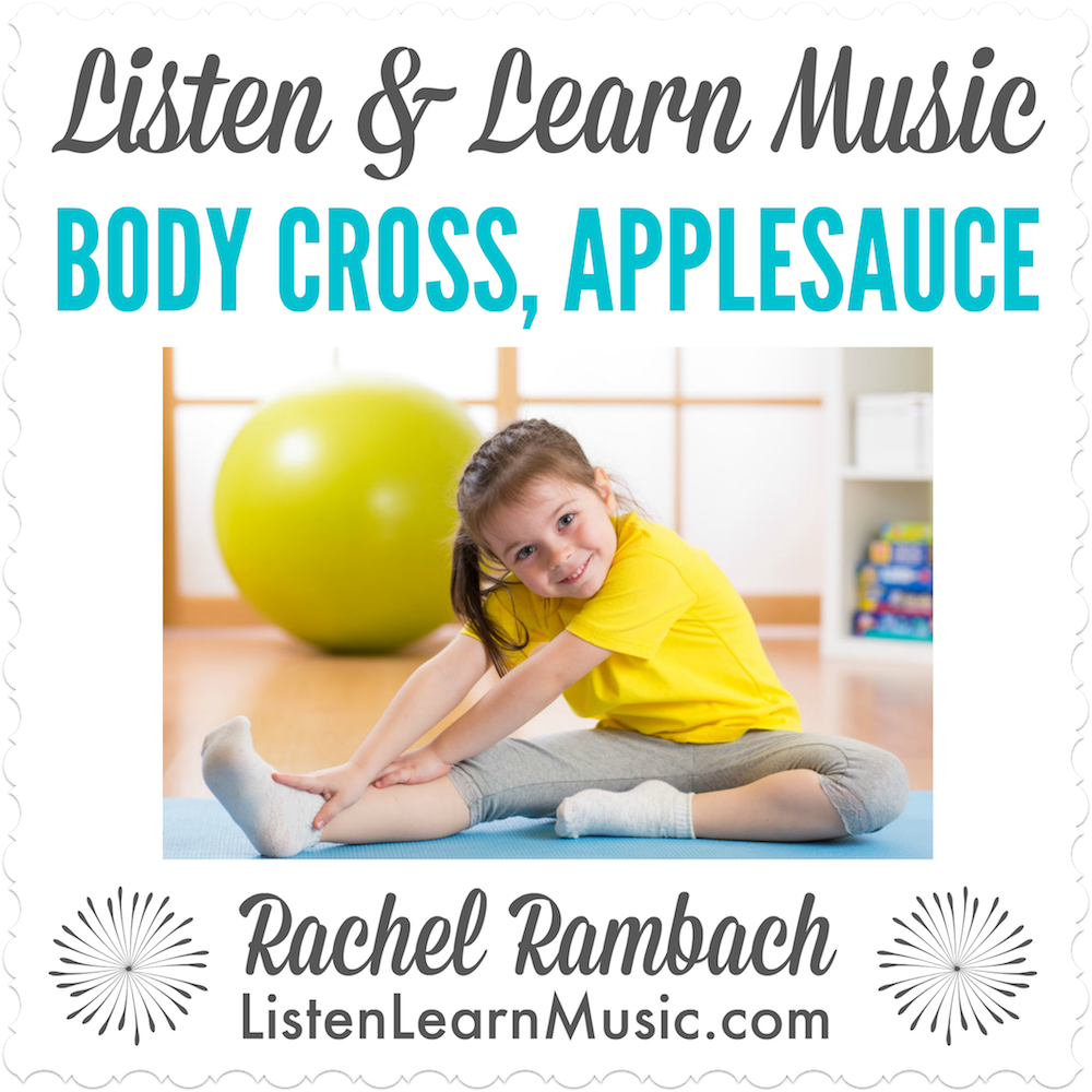 Body Cross Applesauce Downloadable Tracks with Lyrics