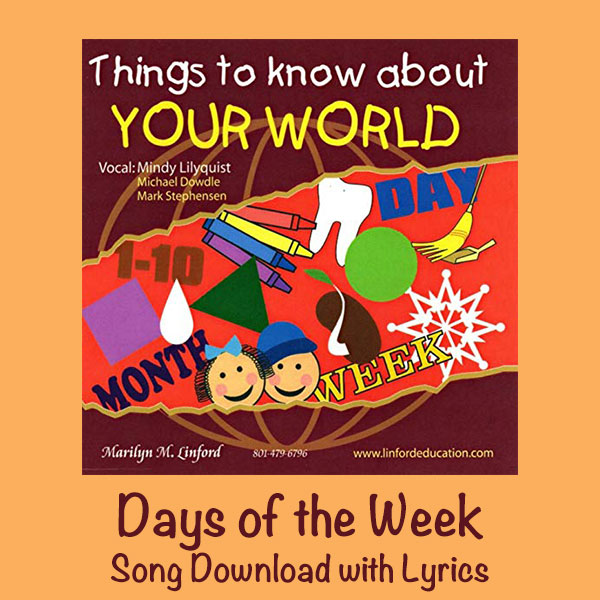 Days of the Week Song Download with Lyrics