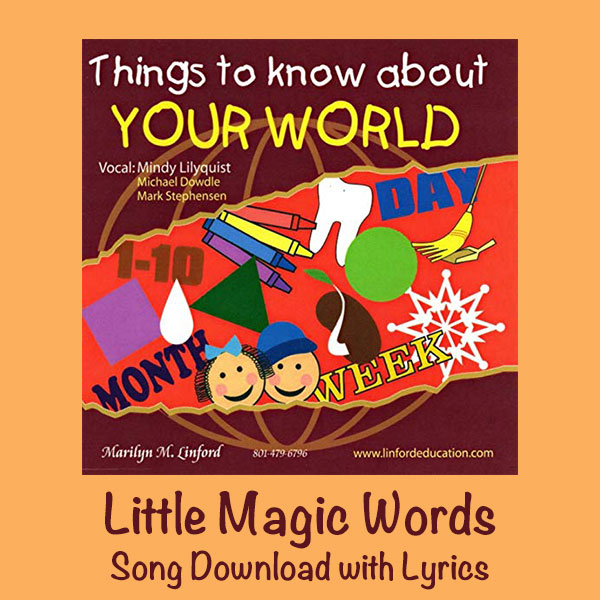 Little Magic Words Song Download with Lyrics