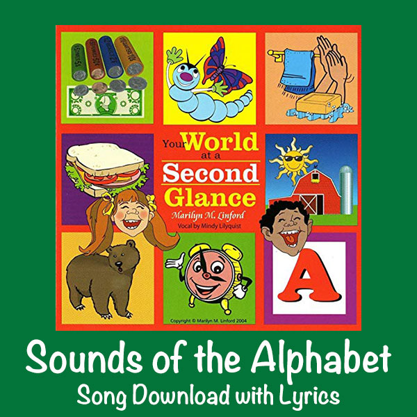 Sounds of the Alphabet Song Download with Lyrics