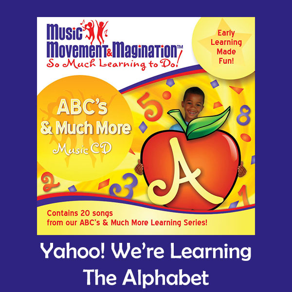 Yahoo! We're Learning the Alphabet