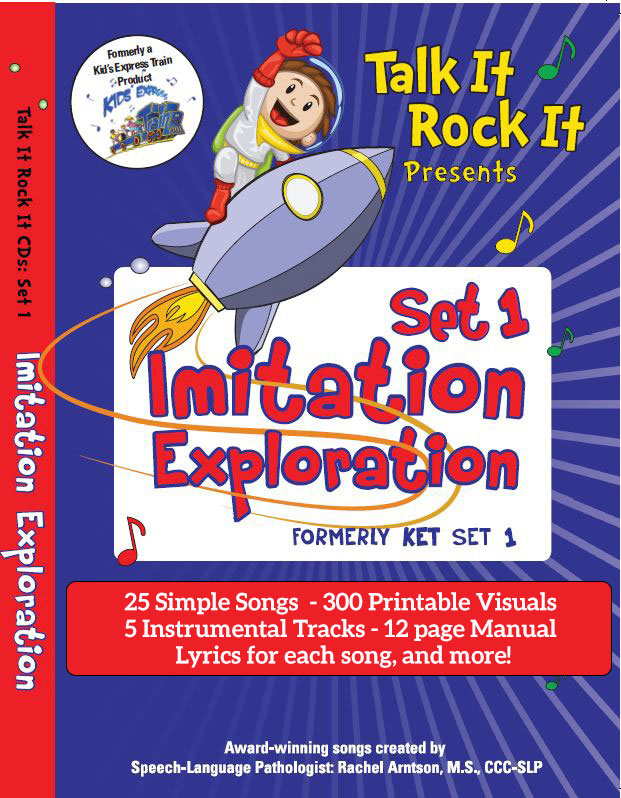 Imitation Exploration Song Set 1 Album Download with Lesson Materials