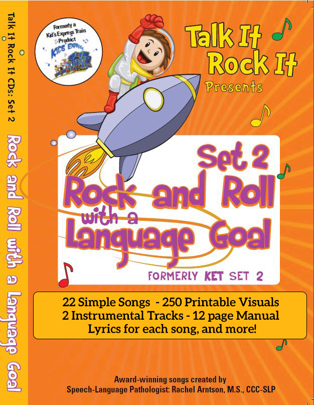 Rock and Roll with a Language Goal Song Set 2 Album Download with Lesson Materials