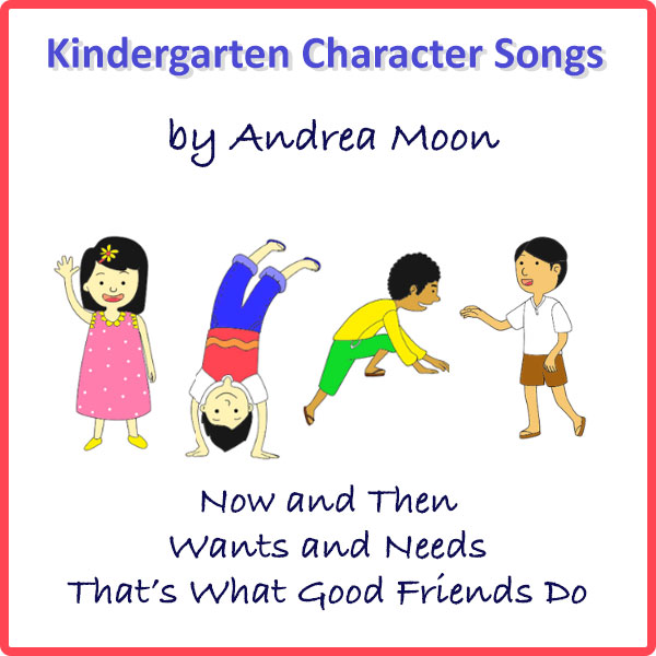 Kindergarten Character Songs Mini-Album Download
