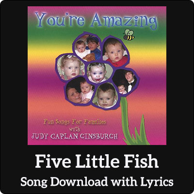 Five Little Fish Song Download with Lyrics