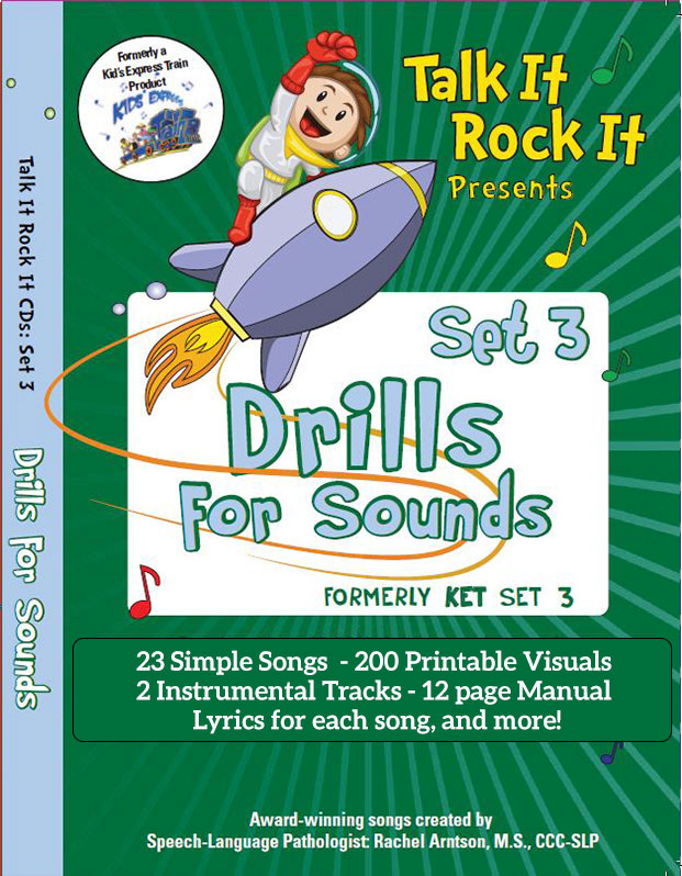 Drills for Sounds Song Set 3 Album Download with Lesson Materials