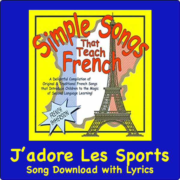 J''adore Les Sports Song Download with Lyrics