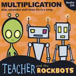 Teacher and Rockbots:  Multiplication