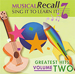 Musical Recall, Volume 2: Educational Music CD or Download