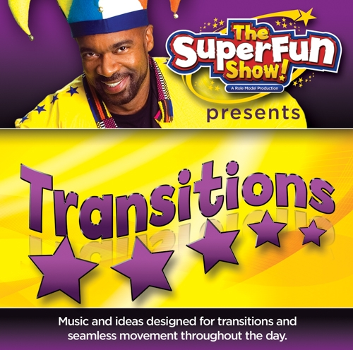 Shawn Brown: Super Fun Transitions! CD