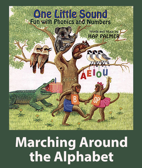 Marching Around the Alphabet Lead Sheets