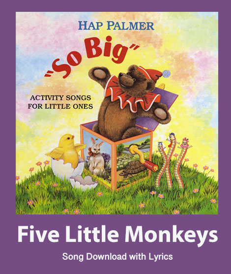 Five Little Monkeys: Instrumental Version