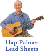 Hap Palmer's Colors: Printable Music Notation