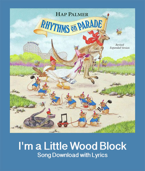 I'm a Little Wood Block Download