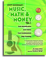 Music Math and Money Album with Printable Pages