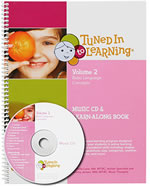 Tuned In To Learning Volume 2: Basic Language Concepts Book with CD