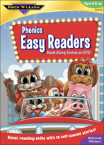 Phonics Easy Readers DVD