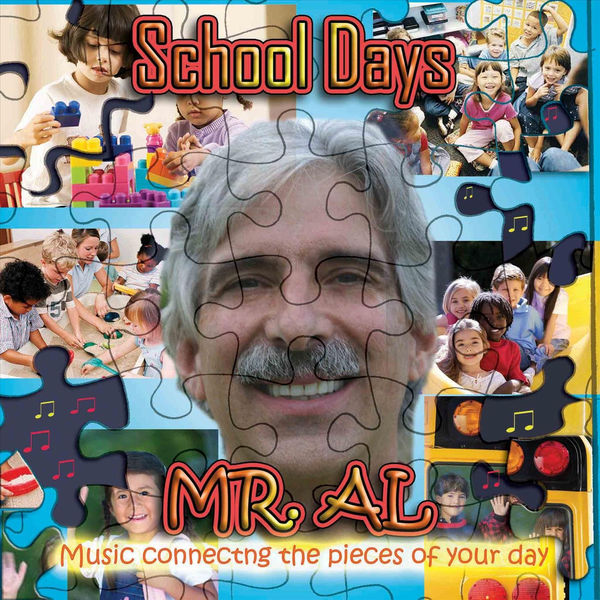 Mr. Al: School Days CD with Bonus Circle Time DVD
