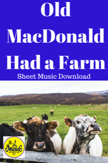 Old Mac Donald Had a Farm: Sheet Music Download