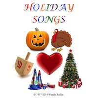 Holiday Songs from Wendy Rollin Download
