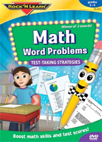 Math Word Problems Video DVD