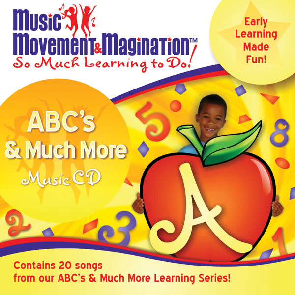 ABCs and Much More:  Educational Music CD or Download