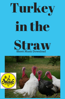 Turkey in the Straw: Sheet Music