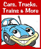 Cars, Trucks, Trains and More! Songs