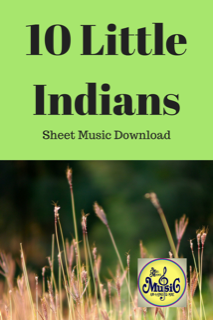 Ten Little Indians (Chipmunks) Sheet Music Download