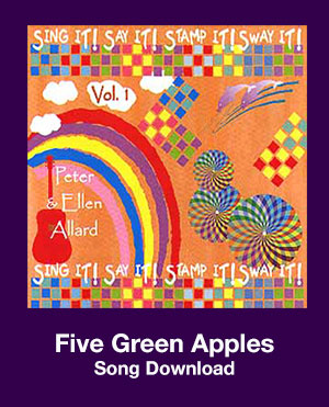 Five Green Apples Song Download