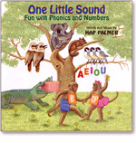 Hap Palmer: One Little Sound - Fun with Phonics And Numbers