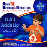 It All Adds Up:  Educational Music CD or Download