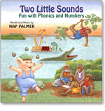 Hap Palmer: Two Little Sounds - Fun with Phonics And Numbers