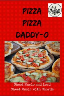 Pizza Pizza Daddy-O: Lead Sheet with Chords