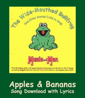 Apples & Bananas Song Download