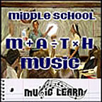 Middle School Math Music