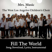 Fill the World: Downloadable Tracks with Lyrics