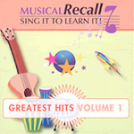 Musical Recall:  Educational Music CD or Download